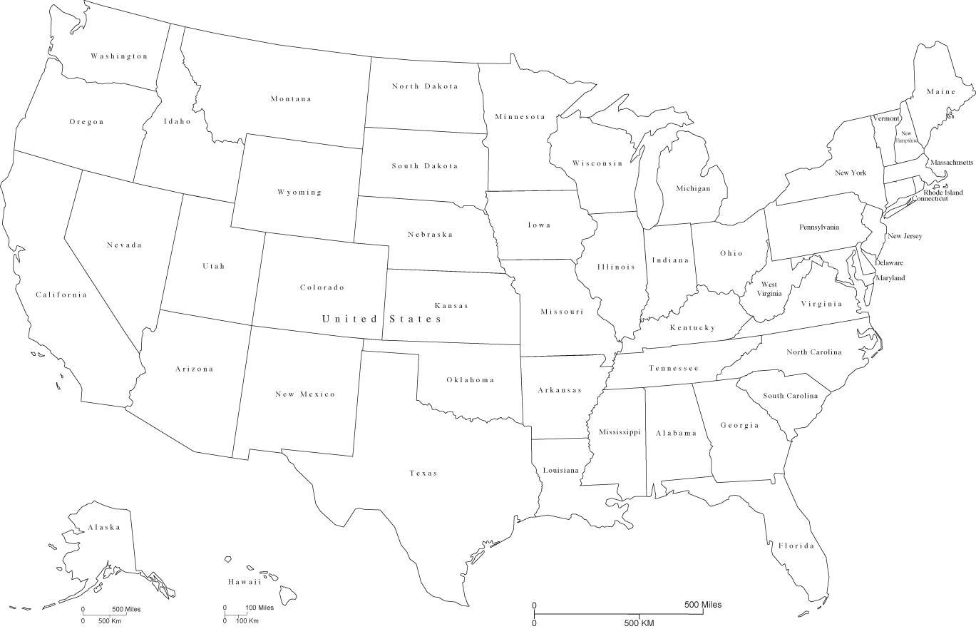 Amerika Karte Schwarz Weiß.Schwarze Und Weiße Us Karte Us Karte Schwarz Und Weiss Northern