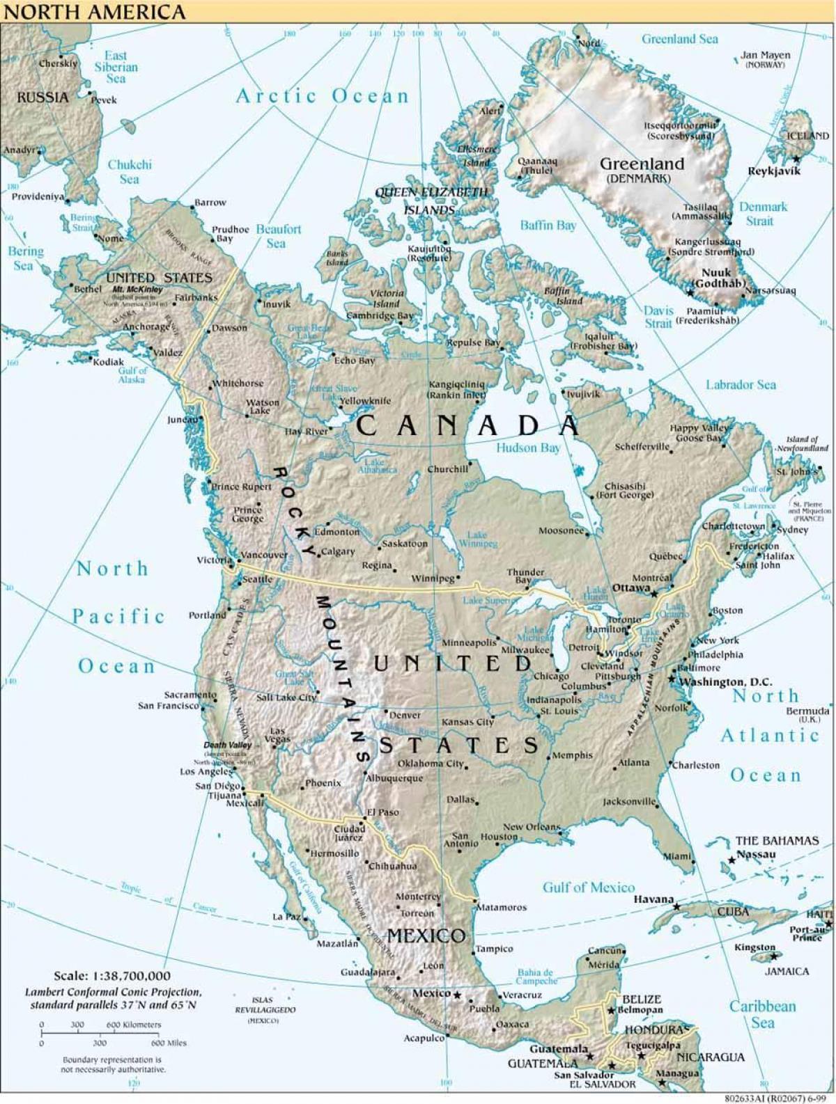 Karte Südamerika Und Nordamerika.Us Gewässern Anzeigen Gewässern Des Us Karte Nordamerika Und